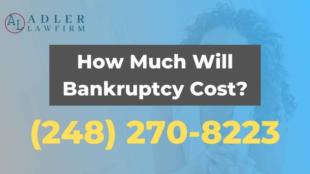 How Much Does Bankruptcy Cost?